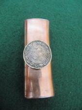 PERSONALIZED CANADA 1 CENT 1910S COIN COPPER LIGHTER CASE / YOUR NAME STAMPED