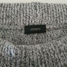 JOSEPH New Grey Mouline 100% Merino Wool Knit Jogger Sweatpants £295 Loungewear