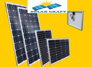Panneau solaire Énergie renouvelable polycristallin 30 W / 130 Watt