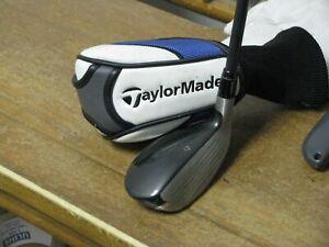 Taylormade SLDR 19* 3 Hybrid Stiff Fujikura Speeder Graphite w/HC Very Nice!!