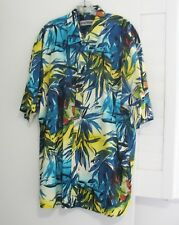 Jams World Mens Hawi Yukata Cotton Short Sleeve Shirt M605 Sz 2XL - NWT