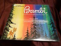 "DISNEY BAMBI Original Movie Soundtrack - 12"" Vinyl LP 1963 Original issue! New!"