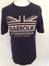 BARBOUR INTERNATIONAL MENS T SHIRT LARGE