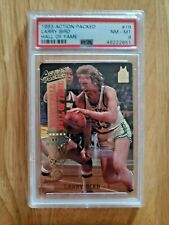 1993 Action Packed Hall of Fame #19 - LARRY BIRD - PSA 8 NM-MT