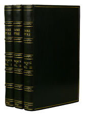 Jane Eyre by CHARLOTTE BRONTE  ~ First Edition ~ 1st Printing 1847 ~ Currer Bell