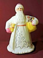 Soviet Christmas ornament Santa Claus USSR Russia Xmas Decor Plastic vintage