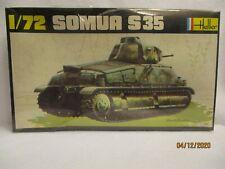 Heller Somua S35 Tank Model Kit 1/72 #197  Complete SEALED KIT
