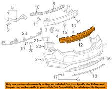 Buick GM OEM 14-16 LaCrosse Bumper Face-Foam Impact Absorber Bar 9014732