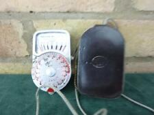 vintage Sangamo Weston Master V Exposure light meter  with case