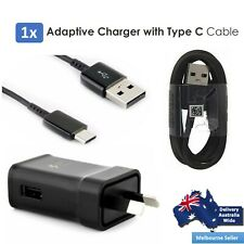 Adaptive Fast Charger & Type C Cables For SAMSUNG  9V ADAPTIVE FAST Charger AC