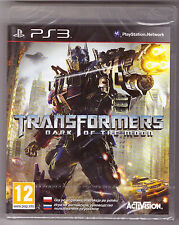 Transformers: Dark of the Moon [PlayStation 3 PS3, Region Free, English] NEW