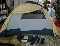 Vintage REI Half Dome 2 Plus Tent with Rainfly - Good Working Condition