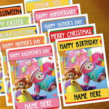 FALL GUYS Personalised Card ANY OCCASION - xmas, romantic, personalized