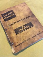 Caterpillar D8 Tractor Service Manual S/N 14A1-up & 15A1-up Book Shop Repair