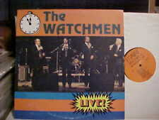XIAN GOSPEL THE WATCHMEN 'LIVE' LP MARK RECORDS VINYL NEAR MINT-