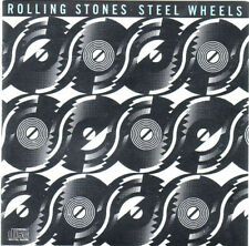 Rolling Stones Steel Wheels CD 1989, Collectible Like New Condition CK 45333