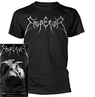Emperor Logo Lucifer Shirt S-XXL Tshirt Black Metal Band T-Shirt Official