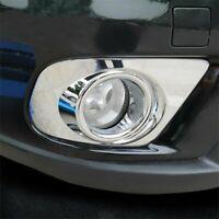 For Dodge Journey 2011-18 Chrome Front Fog Light Lamp Bumper Cover Trim Molding
