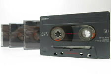 4x Sony ES IV Metal 50 - Cassette Tapes Vintage Prerecorded Sold As Blank Japan
