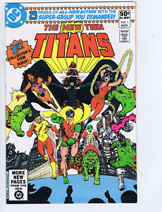 New Teen Titans #1 DC 1980 1st Collector's Item Issue