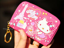 Hello kitty credit card holder ebay pink new hello kitty id credit card id card holder business card case 20 holders reheart