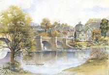 Tom Macdonald The Bridge Corbridge Mounted Print