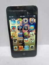 Apple iPod Touch A1367 4th Generation 8GB -Black Works! Good Battery Good Screen