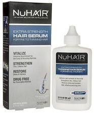NuHair Extra Strength Hair Serum for Fine to Thinning Hair 3.1 oz NIB