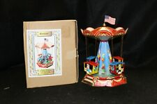 Wagner/Brunn Tin Lithograph Wind-Up Carousel (Germany)