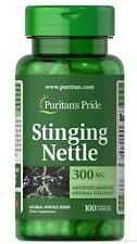 Puritan's Pride Stinging Nettle 300 mg-100 Capsules (free shipping)