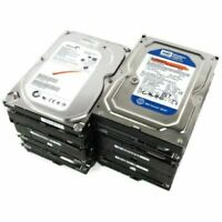 "Lot of 10 Mixed Brands 3.5"" 320GB SATA HDD Hard Drives for Desktop"