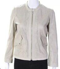 isabel marant Etoile Leather Jacket Beige Size 36