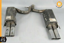 03-06 Brabus W220 S65 S55 CL65 AMG Exhaust Muffler Quad Tips Left and Right