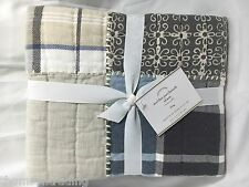 Pottery Barn Malibu Patchwork Standard Quilted Pillow Sham