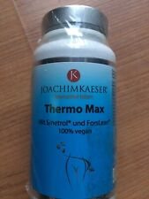 Thermo Max, Joachim Kaeser, 100 Kapseln, OVP