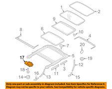VOLVO OEM 07-14 S80 Sunroof Moon Roof-Motor 31283958