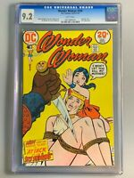 Wonder Woman 209 - CGC 9.2 - Bondage Cover - White Pages