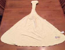 Gerber Cozy Breastfeeding Yellow Baby Blanket Cover Pre-Owned