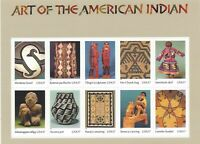 Scott 3873  Art of the American Indian  Mint Sheet of 10 - 37 cent stamps