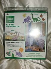 Plaid 19667 Decor In A Day Dinosaur Frolics Wall Stencil Kit Paint Stamps