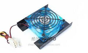 Desktop computer hard disk cooling 3.5 inch hard disk cooling fan 8CM blue LED
