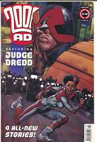 2000AD 2000 AD Prog 1250 July 4 2001 VF Judge Dredd Durham Red Glenn Fabry