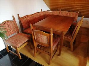 Esstisch mit 3 Stühlen und Eckbank, gebraucht