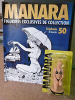 MANARA  FIGURINE N°50 STEPHANIE  EL GAUCHO + LIVRET Etat Neuf avec Boîte plastic