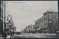 Aberdeen South Dakota Main Street - ca 1908 post card