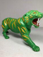 MOTU Masters of the Universe Battle Cat Original He-Man 1976 Cringer Tiger Green