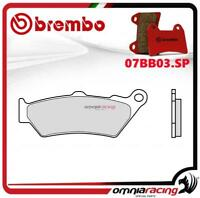 Brembo confezione di pastiglie freno brembo SP sinter post BMW R 1200 GS 13>15