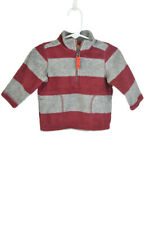 Carter's Boys Sweaters Sweatshirts 6-9 MO Red Polyester