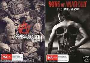 Sons Of Anarchy Complete Seasons 6 & 7 : NEW DVD