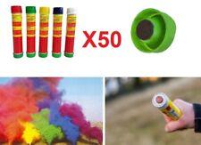 50 Fumogeno smoke fumo colorato.Stadio lunga durata,fumogeni fumogena nebbia gas